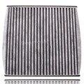 21.8 x 21.2 CM Carbon filtro de aire para Toyota Lexus Scion Sienna GX470 RX350 Camry Avalon 2005 envío gratis