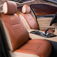 High Quality Pu Leather Universal Car Seat Covers 5 Seats Cushion For KIA All Models K2