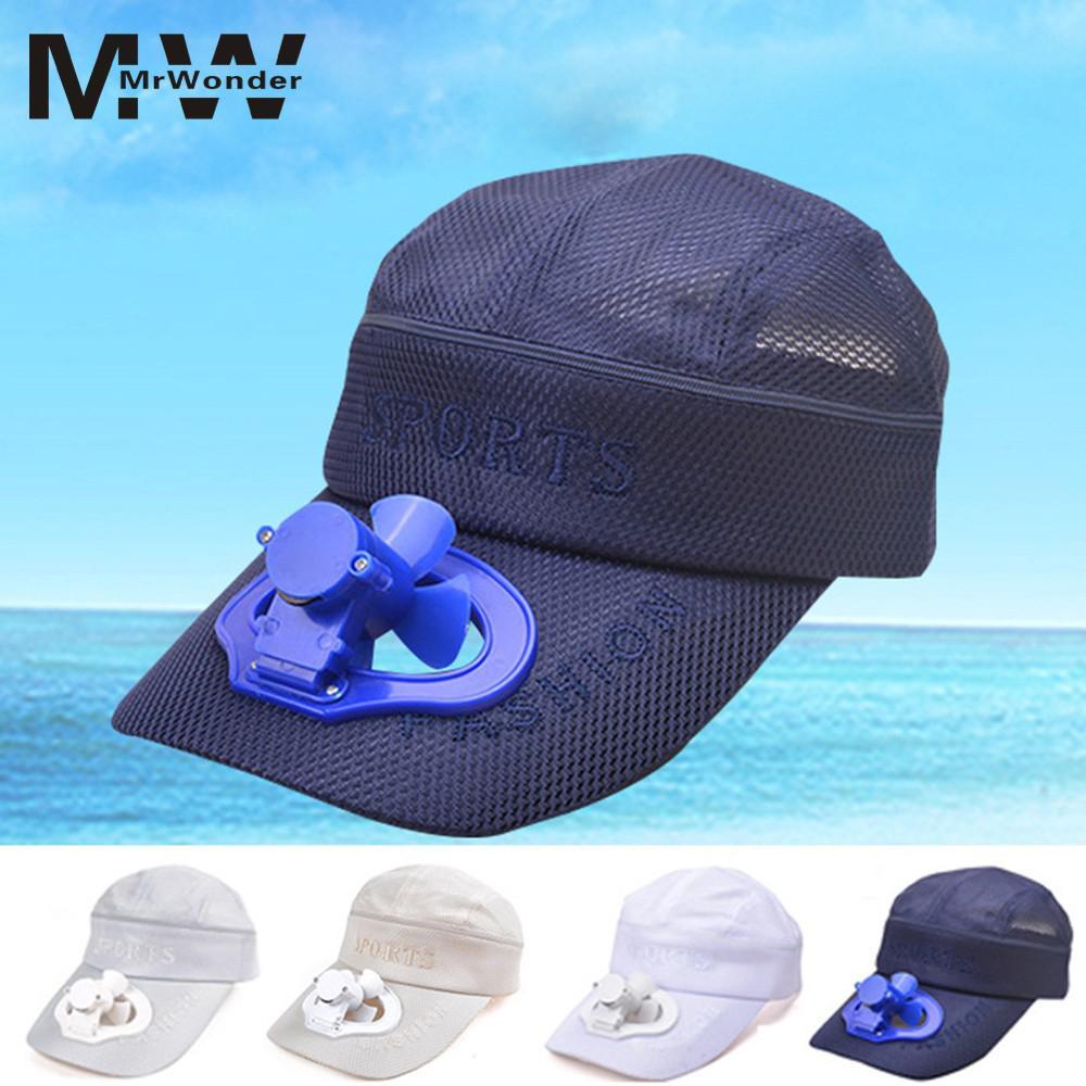 Enthusiastic Creative Sun Cap With Fan Summer Usb Charging Fan Hat With Detachable Top Sun Cap Gift Cool Summer Cap Yi0