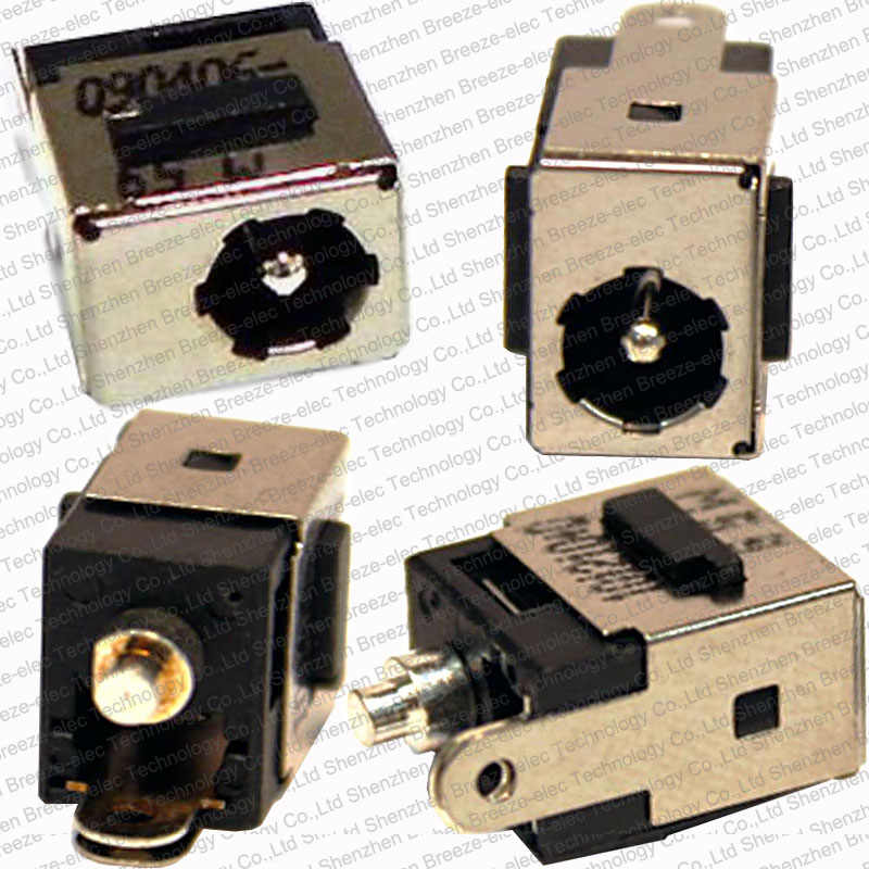 1 ~ 100 adet/grup DC güç şarj portu Jack soketli konnektör HP Pavilion DV5000 DV8000 V5000 C300 C500 Mini 9 10 11 12 serisi