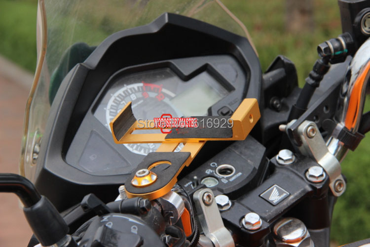 Motorcycle GW250 phone holder mirage aluminum bracket of navigation navigator holder-1565782.jpg