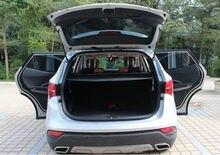 Para Hyundai Santa Fe IX45 2013-2016 5 Posterior Del Tronco Hatch asientos de Seguridad Cargo Cover Shade NEGRO Nuevo