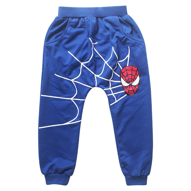 New Baby Boys Spring Autumn Spiderman Sports suit 2 pieces set Tracksuits Kids Clothing sets 100-150cm Casual clothes Coat+Pant 4