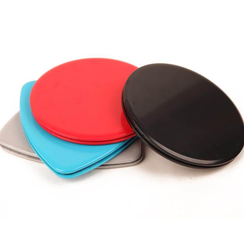1 Paar Zweefvliegen Discs Slider Fitness Disc Oefening Schuifplaat Voor Yoga Gym Abdominale Core Training Oefening Apparatuur Driehoek Knappe Verschijning