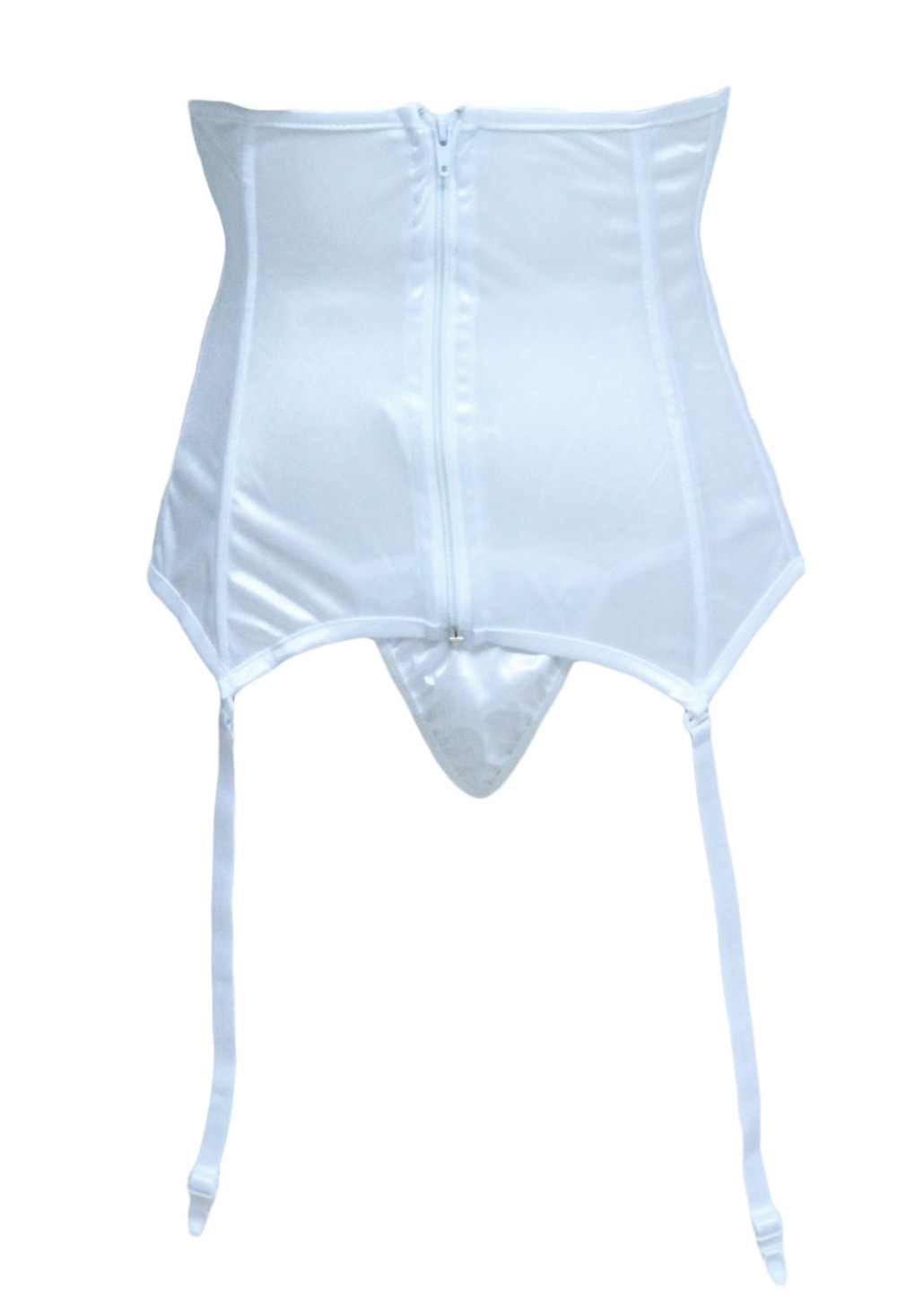 Black Wedding Garter Bridal High Waist Cincher Garters Belts Stockings Suspenders 6 Straps Underbust Belt In From Womens