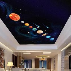 9pcs Planets DIY Wall Sticker PVC Waterproof Luminous  Planet Glow In The Dark Wall Stickers Kids Room Decor