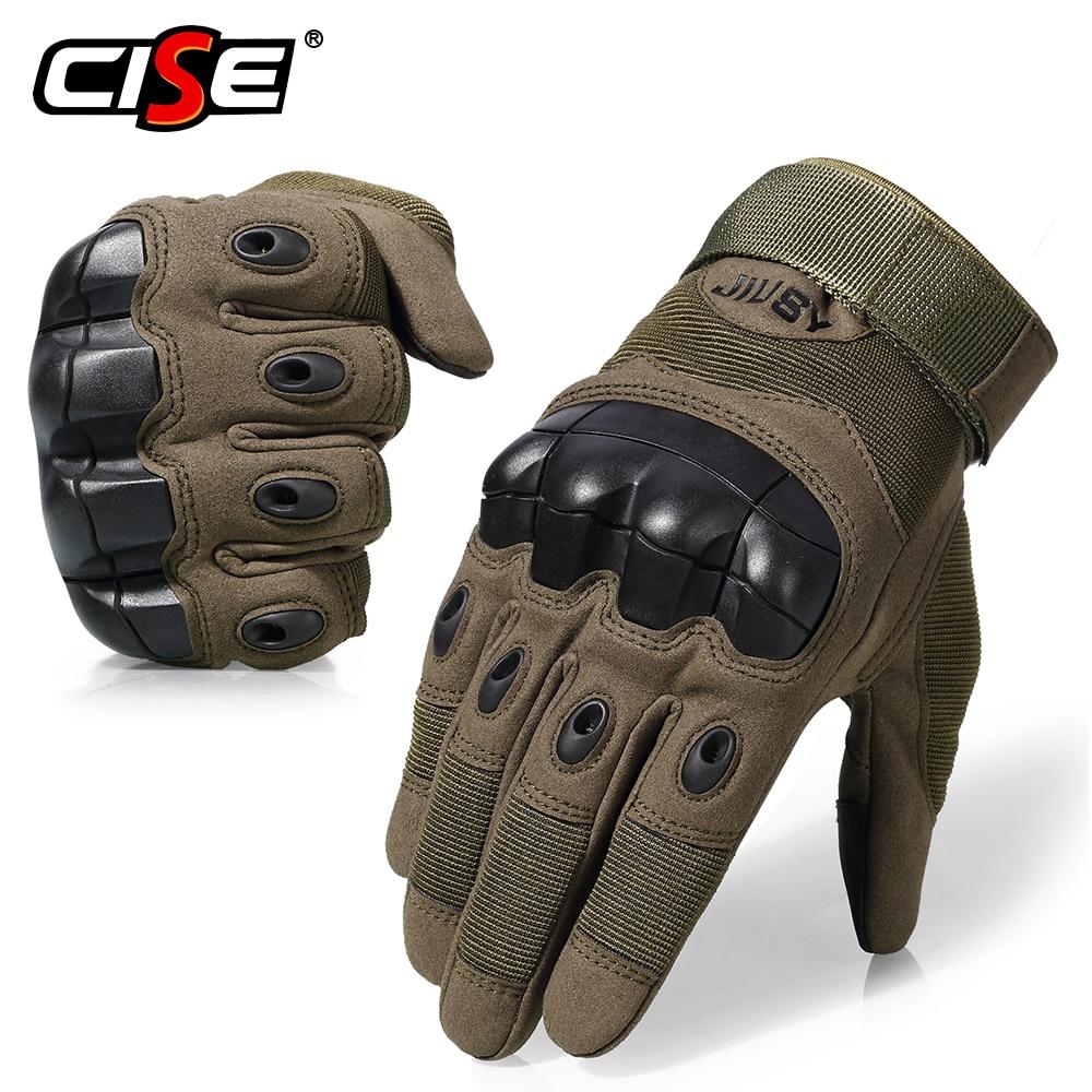 Touchscreen Motorrad Voll Finger Handschuhe Motocross Schutz Getriebe Motorrad Racing Gummi Harte Knuckle Outdoor für Männer Frauen