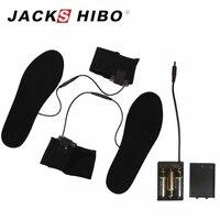 JACKSHIBO Đàn Ông Phụ Nữ Giày Nóng Chèn Mùa Đông Nước Nóng Lót Electric Powered Lót cho Giày Boot Giữ Ấm Lót