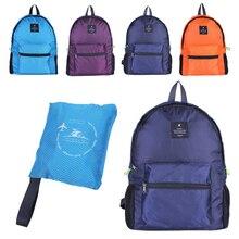 Outdoor Durable Nylon Folding Backpack Women Men Lightweight Travel Bag Hiking Portable Camping Daypack Sports #2