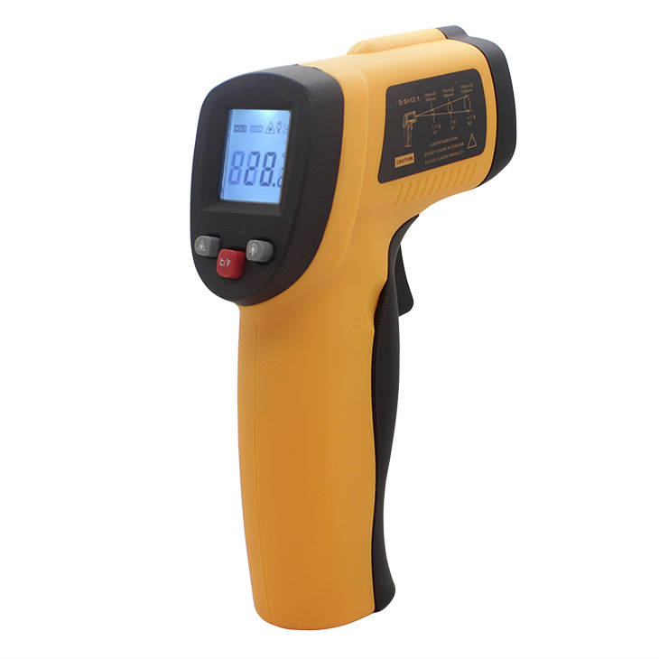 handheld infrared thermometer laser temperature sensor infrared laser thermometer digital GM550 up to 550 celsius