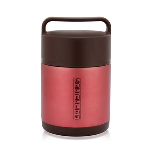 Stainless Steel Vacuum Insulated Tiffin Box Vacuum Food Container Japanese Round 3 Layer Lunch Box Colorful Bento Box