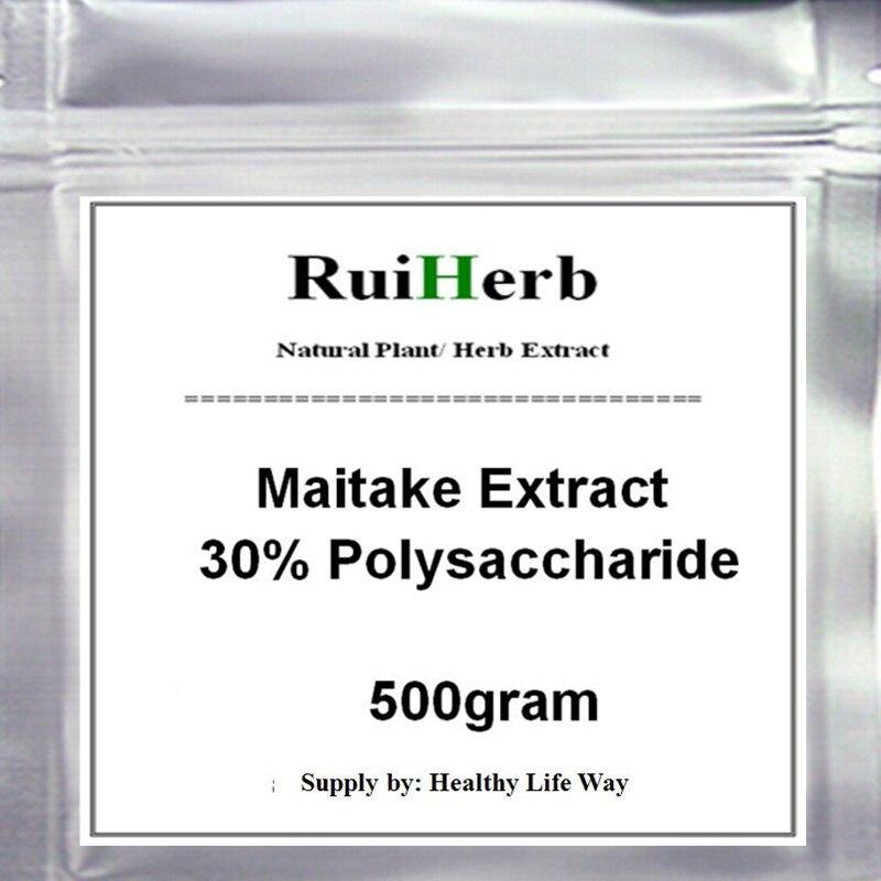 500 gram Maitake ekstrakt z 30% polisacharyd proszek Grifola Frondosa ekstrakt z w Brokat do ciała od Uroda i zdrowie na AliExpress - 11.11_Double 11Singles' Day 1