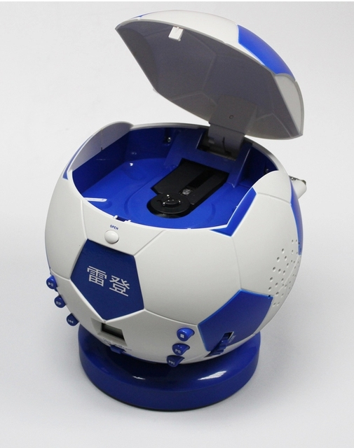 portable cd radio cd player mp3 cd player soccer putting pc 8071 in