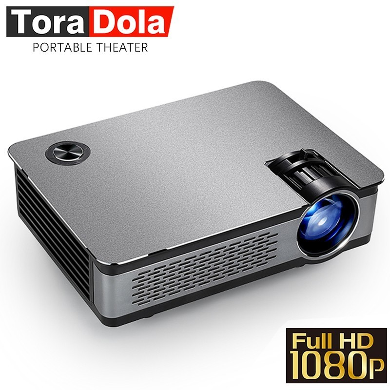 TORA DOLA Full HD Projector. 1920*1080, 4,500 Lumens, AKEY5 IMP-5803 UP, Android Project ...