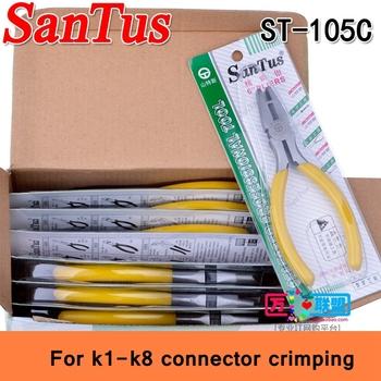 6 sztuk partia ReadStar Santus 6 #8222 szczypce do K1-K8 złącze narzędzie ST-105C telekomunikacja okablowanie sub szczypce złącze #8230 tanie i dobre opinie Kabel Crimper