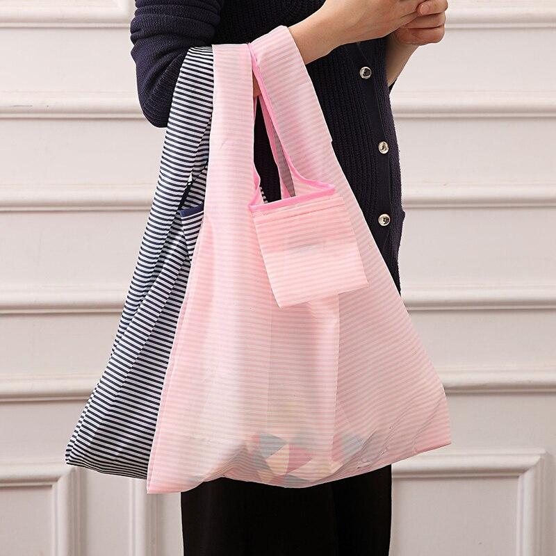 Складная многоразовая сумка для покупок, экологически чистые портативные тоуты для покупок, Бытовая сумка для хранения продуктов, принадле...