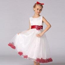 Pageant первое причастие пола свадьбы принцесса длина девушка цветок платья девушки