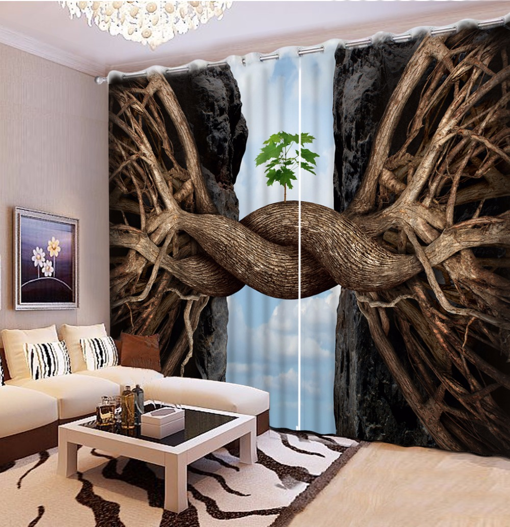 2017 New Photo Printing Blackout Window Curtains For The Bedroom Creative tree flyover cliff Curtains 3D2017 New Photo Printing Blackout Window Curtains For The Bedroom Creative tree flyover cliff Curtains 3D