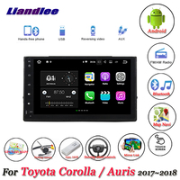 Liandlee Car Android System For Toyota Corolla / Auris 2017~2018 Radio GPS Map Navi Navigation Stereo Multimedia No DVD Player