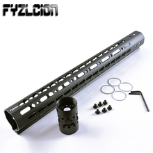 цены Fyzlcion Black high quality  15'' Length AR15 Free Float Keymod Handguard Picatinny Rail for Hunting Tactical Rifle Scope Mount