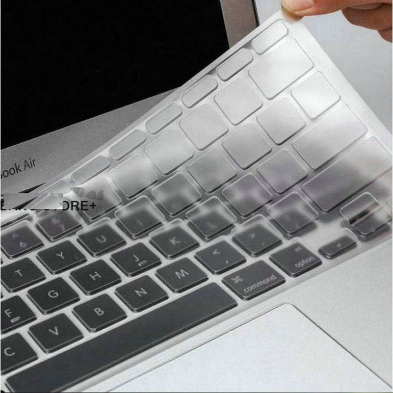 UltraThin Clear For MacBook Air Pro Clavier Sticker TPU Keyboard Cover Skin