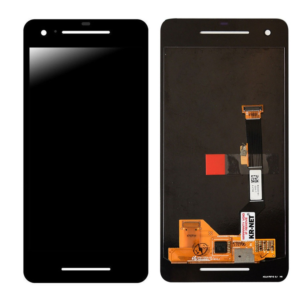 Black For Google Pixel 2 LCD Display With Touch Screen Digitizer Assembly Free ShipingBlack For Google Pixel 2 LCD Display With Touch Screen Digitizer Assembly Free Shiping
