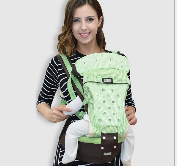 Beautiful New Designs China Style Baby Carrier Fashion Floral Baby Sling Ergonomic Baby Backpack For 0-3 Years Backpacks & Carriers