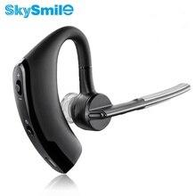 D'affaires Bluetooth Écouteur Sans Fil Mains Libres Bluetooth V4.0 Casque Avec Micophone Casque Voix Pour Iphone Sumsung Android