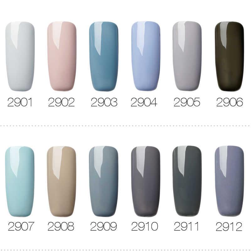 ROSALIND Gel 1 s 7 ml Grijs Kleuren Serie Gel Nagellak Voor Nagel Uitbreiding Primer Nodig Top Base Ontwerp manicure Gel Vernissen