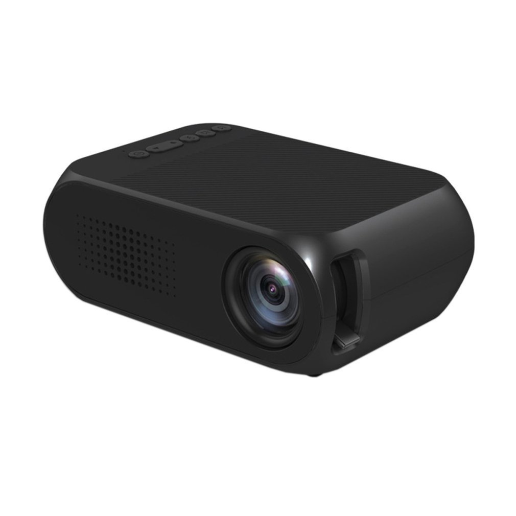 Artlii Portable Hd Home Theater Support 1080p Lcd: YG320 Portable Mini Projector Full HD 1080P 3D Multimedia