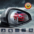 2Pcs Car Anti Water Mist Film Anti Fog Nano Coating Rainproof Rearview Mirror Window Protective Film