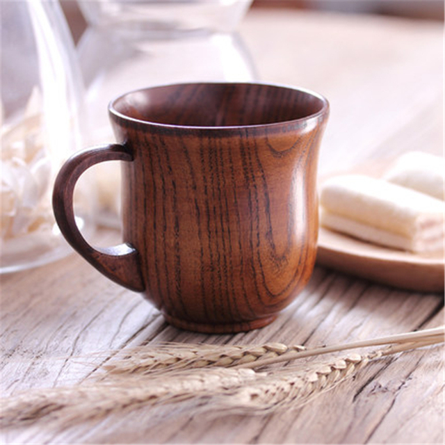 Us19 Milk Ddbxy59 Vintage Mug Fincan Tea Eco Natural Coffee From Simple Creative Cup In Teacup Mugs 16japanese Friendly Personalized Wood PiTkZXuO