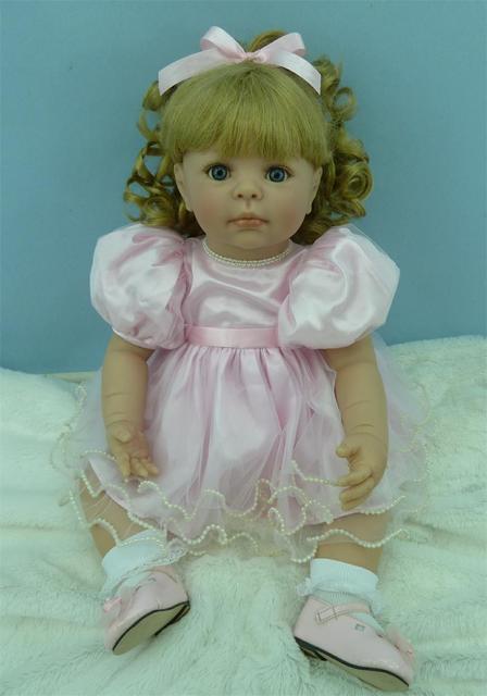 Silicone Vinyl Reborn Baby Doll Girl