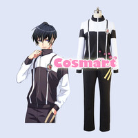 Game A3!Team Spring Figure Usui Masumi Sports Uniform Jacket+Pants Cosplay costume for adult NEW 2017 free shipping