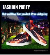 Весна 2017 новая мода led shoes для детей дети светящиеся shoes Boys and girls light up kids кроссовки мужчины кроссовки shoes