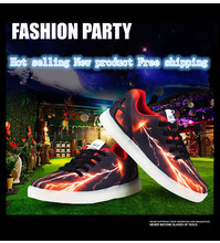 Spring 2017 new fashion led shoes for children children luminous shoes Boys and girls light up