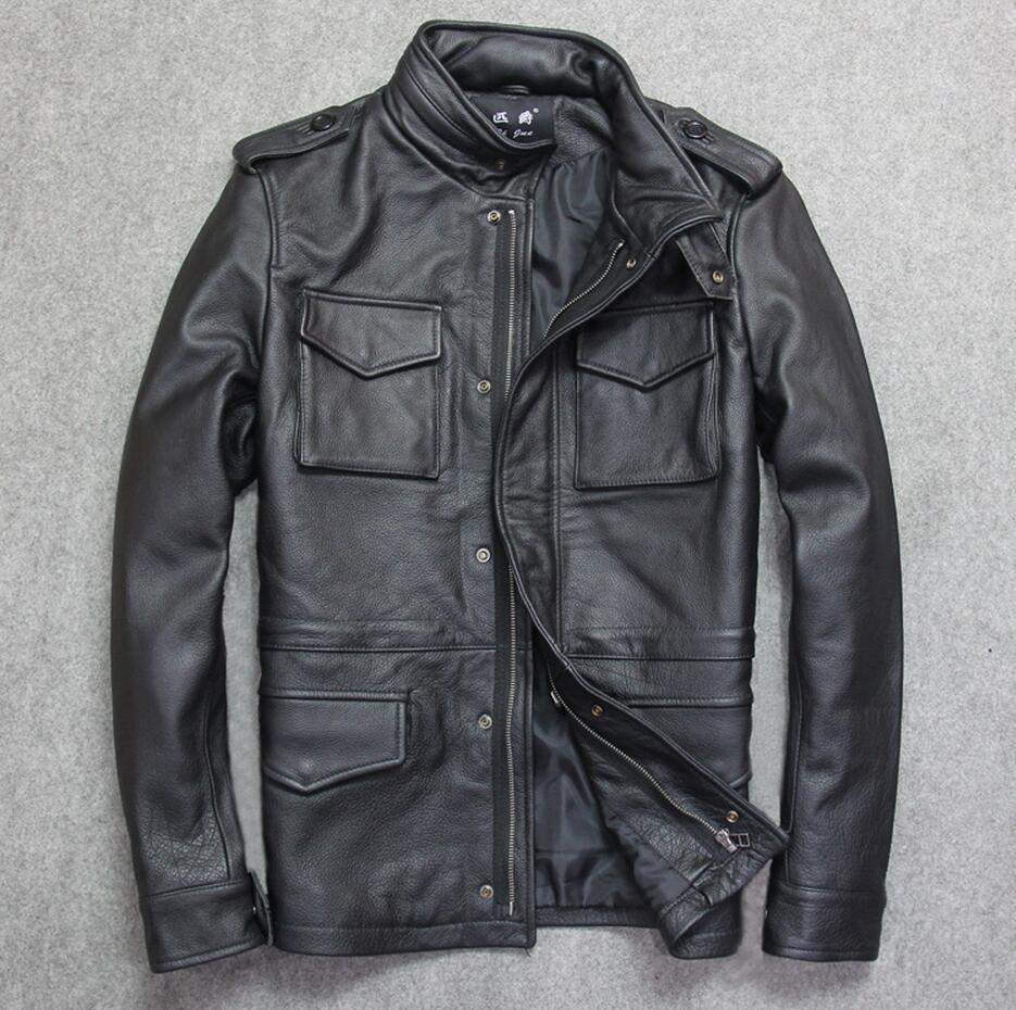 Compare Prices On Cowhide Leather Jackets Online Shopping Buy Low