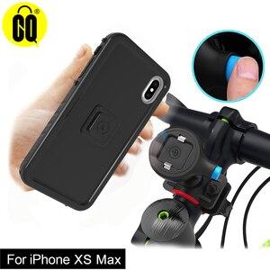 Image 2 - Новинка для iPhone XS Max, велосипедное крепление, ударопрочный чехол, для велосипеда, держатель для телефона, стойка для мотоцикла, GPS, мото, подставка для руля