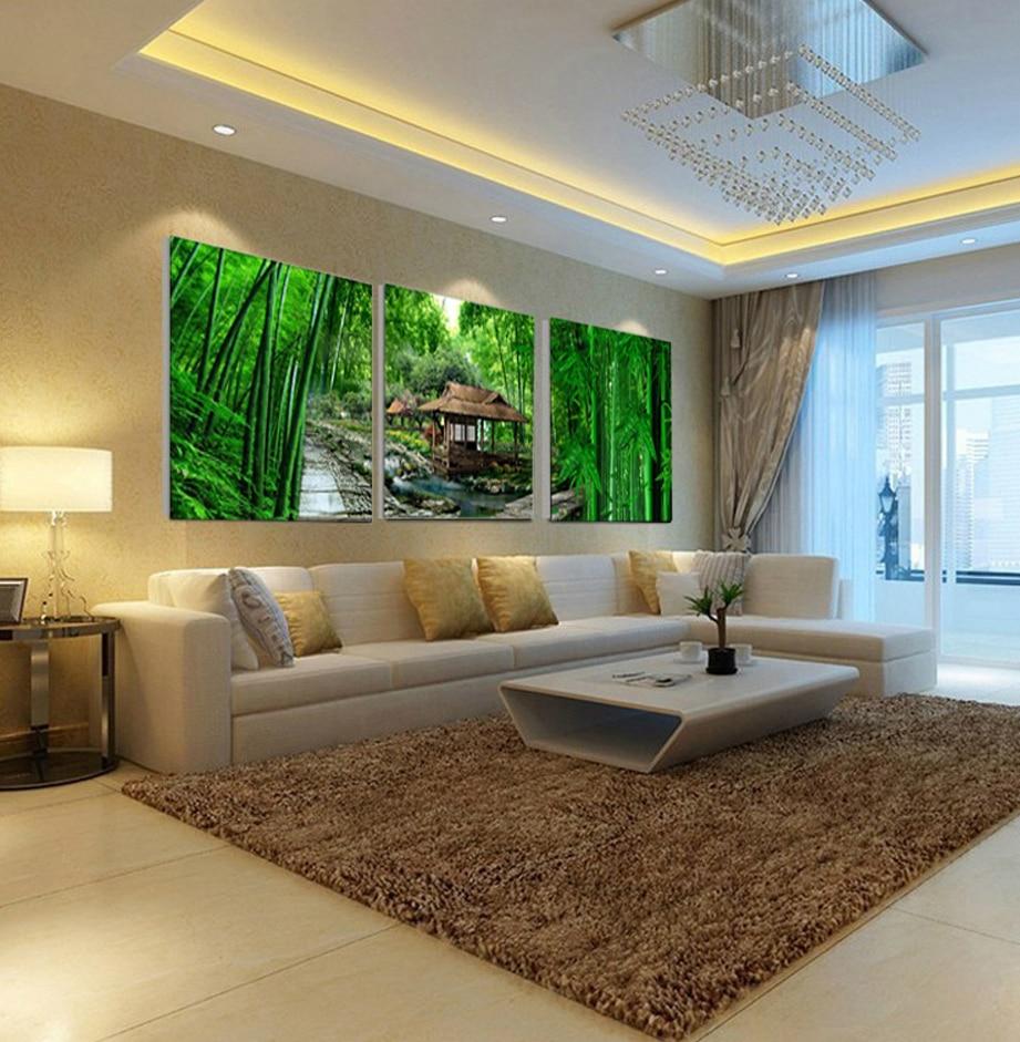 Achetez en Gros bambou encadrée art en Ligne à des ...