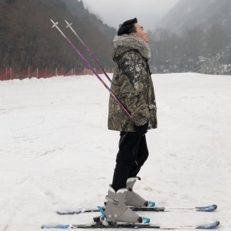 Hiver Couple Ski veste hommes femmes grande taille Ski costume épaissir coton Snowboard manteau impression motif Camouflage Ski veste
