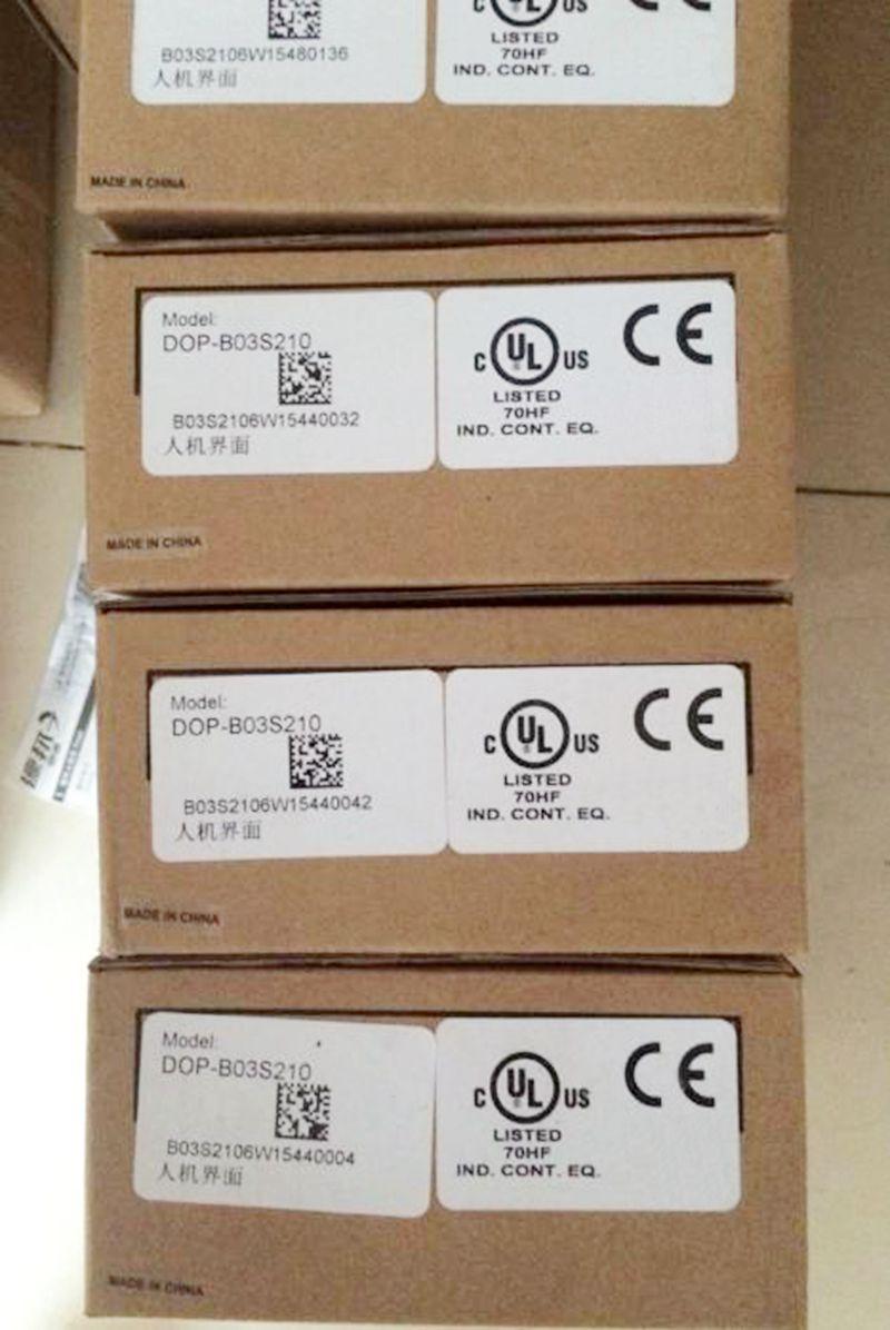 Новый оригинальный dop-b03s210 4.3 дюймов HMI 480*272 TFT ЖК-дисплей Панель Delta Сенсорный экран Панель b03s210 * 1 шт.