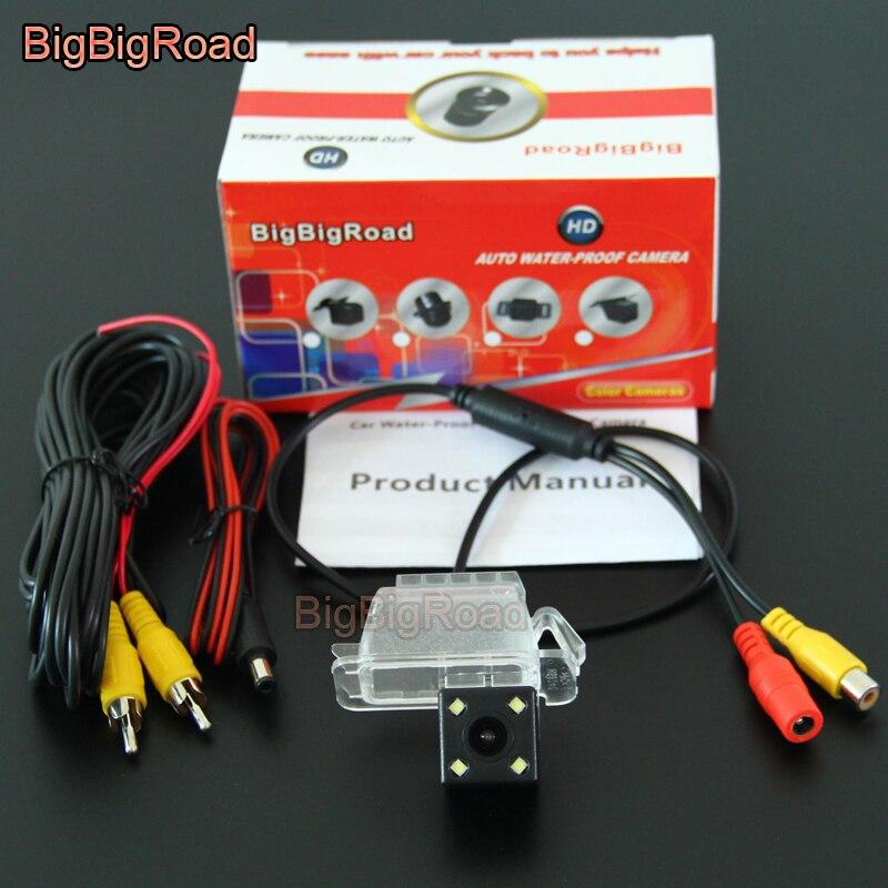 цена на BigBigRoad Car Rear View Backup Parking Camera For Ford C-Max C Max CMax 2010-2016 / Fiesta Kuga MK1 Galaxy 2006- 2012 2013 2014