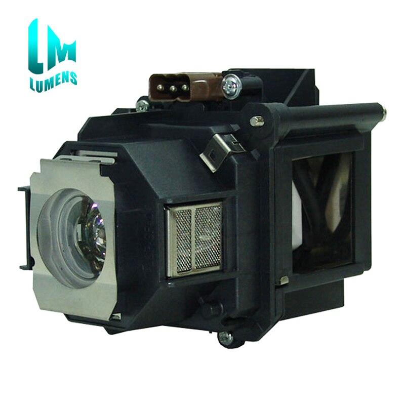 Pour ELPLP46 Lampe De Projecteur Avec Boîtier Pour Epson EB-G5000 EB-G5200 G5350NL G5200W EB-G5300 EB-G5350 Projecteurs Longue durée de vie