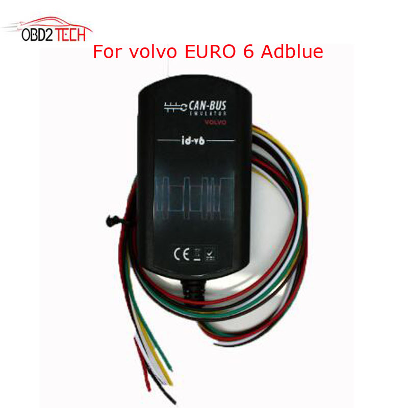 New Truck Scanner Adblueobd2 For Volvo Euro 6 Adblue Removal Emulator with NOX sensor Support DPF system 10 pcs hot new arrival truck adblue obd2 renault def nox emulator via obd2 adblue obd2 for renault dhl free