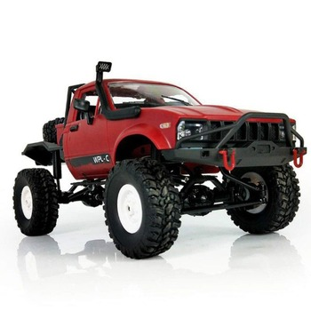 Nueva llegada 1:16 WPL C14 escala 2,4G 4CH Mini RC camión RTR niños escalada de juguetes de modelo de coche pasatiempo para los niños