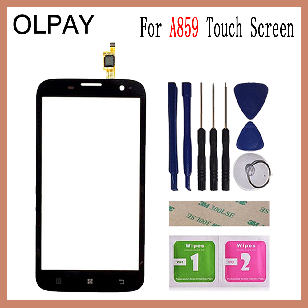 OLPAY 5.0 For Lenovo A859 A 859 Touch Screen Digitizer Panel Repair Parts Touch Screen Front Glass Lens Sensor ToolsOLPAY 5.0 For Lenovo A859 A 859 Touch Screen Digitizer Panel Repair Parts Touch Screen Front Glass Lens Sensor Tools