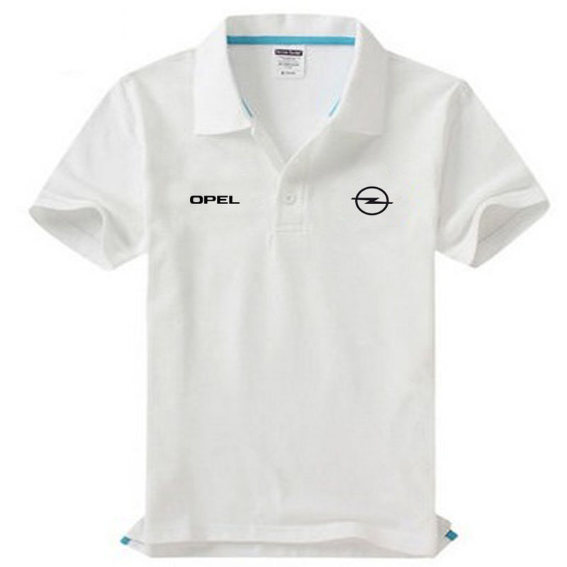 Brand clothing Opel logo   Polo   Shirt Casual solid male   polo   shirt Short Sleeve High quality