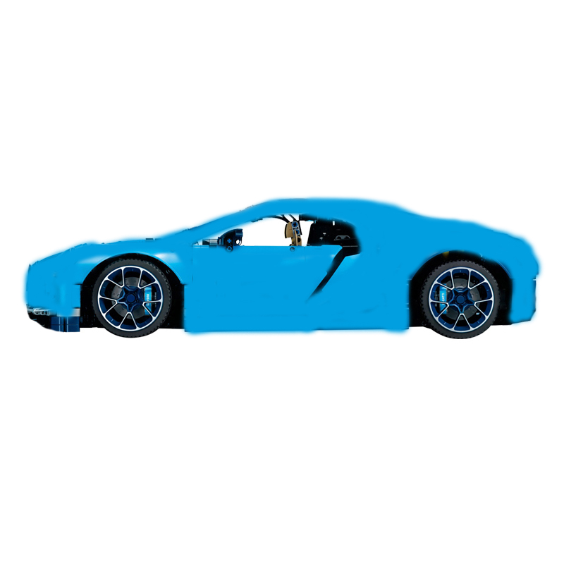 цена 38036 Technic series The Chiron sports car Model Building Blocks set Toys for children classic car-styling Compatible 42083