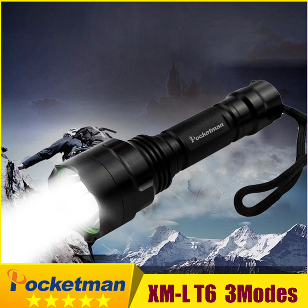 Rechargeable Led Flashlight XML T6 XML L2 Q5 Waterproof 5 mode 18650 battery tactical hunting camping bicycle flash light sitemap 30 xml page 1