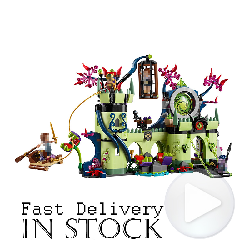 Elves Toys For Girls Breakout From The Goblin King's Fortress LEPIN 30011 Castle 750Pcs Building Blocks Bricks compatibie 41188 lepin 30017 505pcs elves series the aira